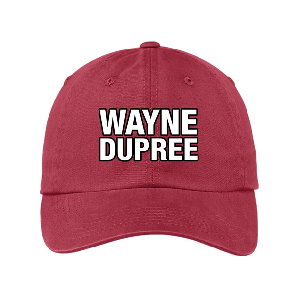 Wayne Dupree Show - Garment Washed Unstructured Cap