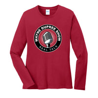 Wayne Dupree Show - Ladies Long Sleeve Core Cotton Tee