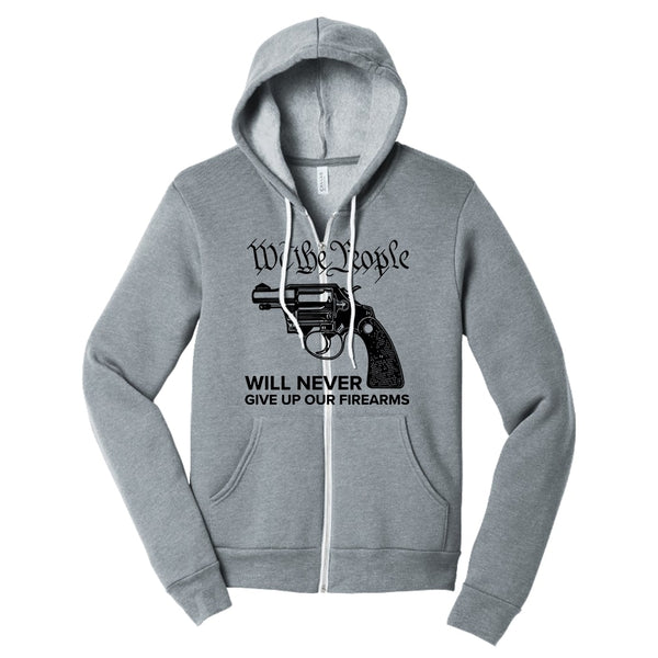 We The Armed People - Sponge Fleece Full-Zip Hoodie