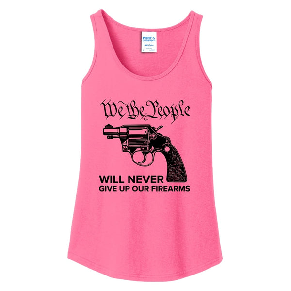 We The Armed People - Ladies Core Cotton Tank Top