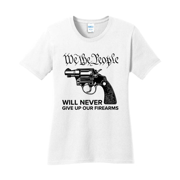 We The Armed People - Ladies Core Cotton Tee