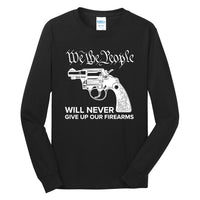 We The Armed People - Long Sleeve Core Cotton Tee