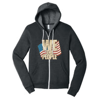 We The People - Sponge Fleece Full-Zip Hoodie