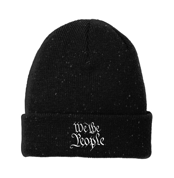 We The People - New Era Speckled Beanie