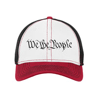 We The People - Stretch Mesh Contrast Stitch Cap