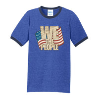 We The People - Core Cotton Ringer Tee