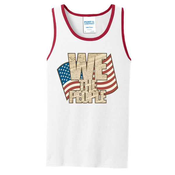 We The People - Core Cotton Tank Top
