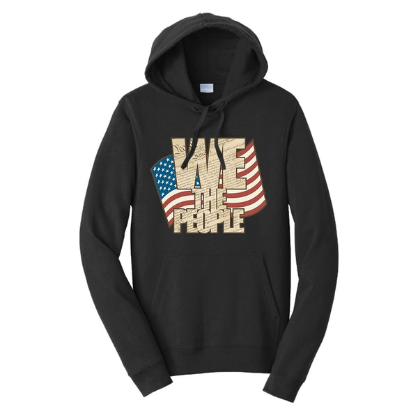 We The People - Fan Favorite Fleece Pullover Hooded Sweatshirt