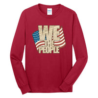 We The People - Long Sleeve Core Cotton Tee