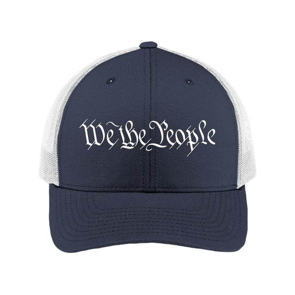 We The People - Retro Trucker Cap