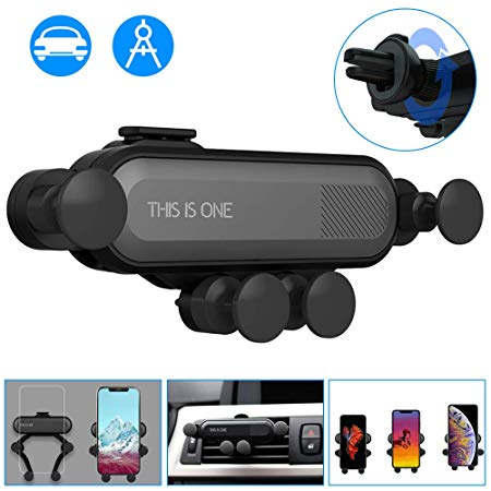 2019 New Universal Auto-Retractable Gravity Car Phone Holder