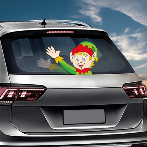 80% OFF Christmas Wiper Sticker(Hot selling 30,000 items)