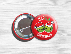 Vegan Kawaii christmas pin, kawaii christmas pin badge, kawaii christmas button, christmas pin badge, christmas button badge, pin christmas