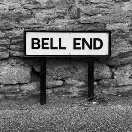 Bell End - Road Sign Greeting Card