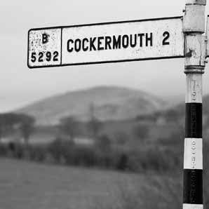 Cockermouth - Road Sign Greeting Card