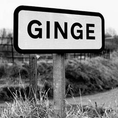 Ginge - greeting card
