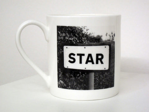 Star - Large Fine Bone China Mug