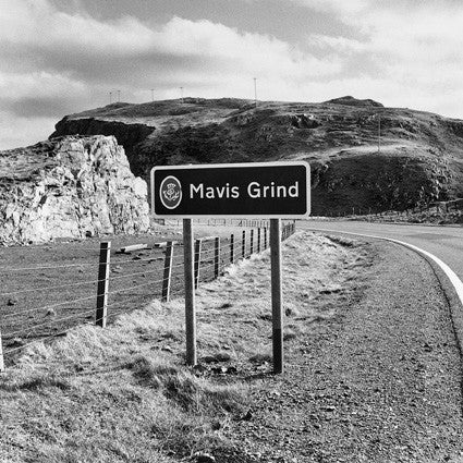Mavis Grind - Photographic Road Sign Greeting Card