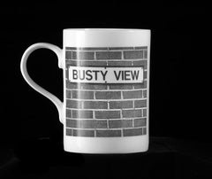 BUSTY VIEW - Fine Bone China Mug
