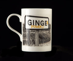 Ginger Power - Fine Bone China Mug