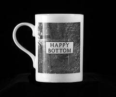 Happy Bottom - Fine Bone China Mug