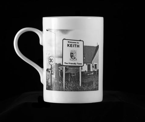 Keith - Fine Bone China Mug