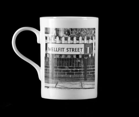 Wellfit Street - Fine Bone China Mug