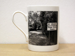 Old - Porcelain Mug