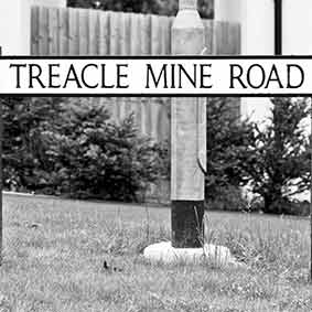 Coaster - inspired by Terry Pratchett's Discworld - Treacle Mine Road