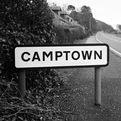 Camptown - Greeting Card