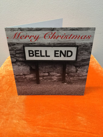 Bell End - Christmas Card