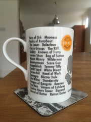 Lesser Spotted Orkney - fine bone china mug