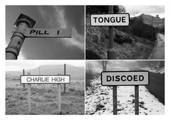 Postcard: Pill/Tongue/Charlie High/Discoed - PC10