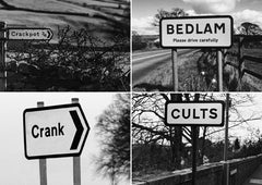 Postcard: Crackpot/Bedlam/Crank/Cults - PC17