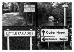 Postcard: Old/Retire/Little Paradise/Inner Hope - PC01