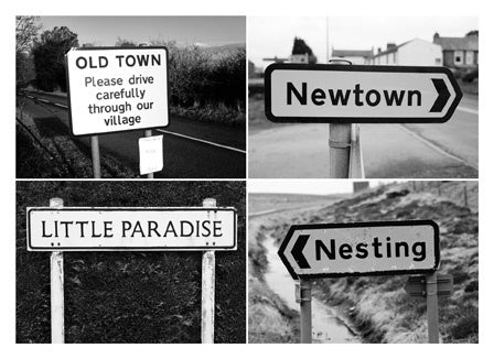 Postcard: Old Town/Newtown/Little Paradise/Nesting - PC02
