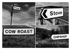 Postcard: Fryup/Stove/Cow Roast/Chipshop - PC03