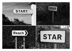 Postcard: Start/Soar/Reach/Star - PC04
