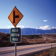 Rock Bottom Road, USA - Greeting Card