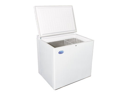 205L White or S/Steel Fridge/Freezer 220v/Gas