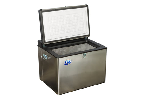 45L S/Steel Fridge/Freezer 12V/220V/Gas