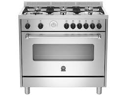 LaGermania Americana, 6 Gas Hob Gas Oven & Grill, AMS95C81BX