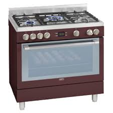 Red 5 Burner Gas Electric Multifunction Stove DGS162R