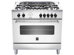 LaGermania Americana 5 Gas Hob, Electric Oven, AMS95C61LBX