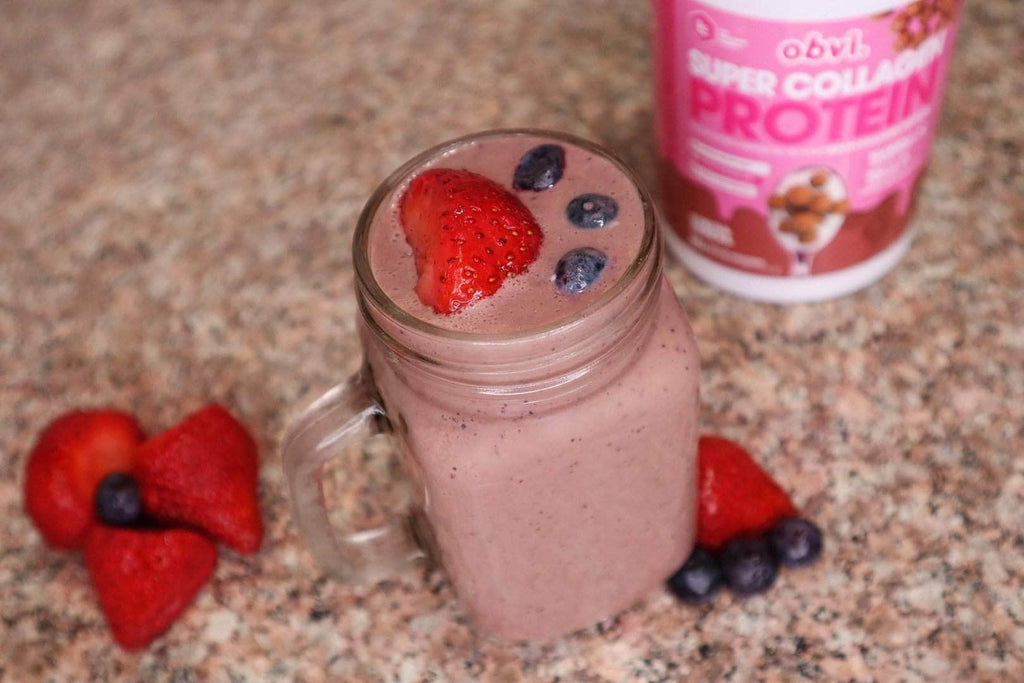 Very Berry Chocolaty Smoothie