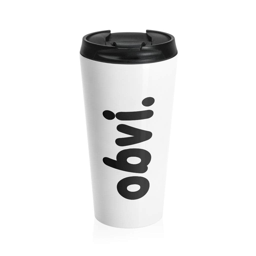 Obvi Stainless Steel Travel Mug