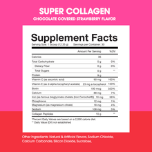 Load image into Gallery viewer, Super Collagen Protein Powder | Chocolate Strawberry