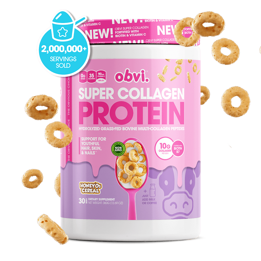 Super Collagen Protein Powder | Honey'Os Cereal