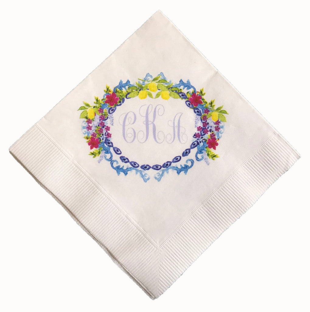 Paper Cocktail Napkins (Set of 50)