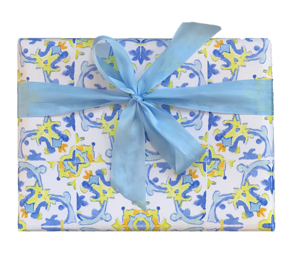 Tile Gift Wrap Collection